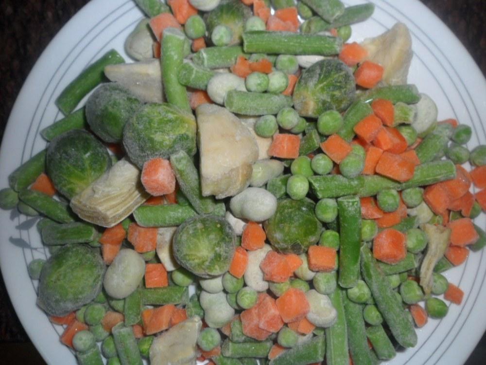 Menestra de verduras congeladas (2/4)