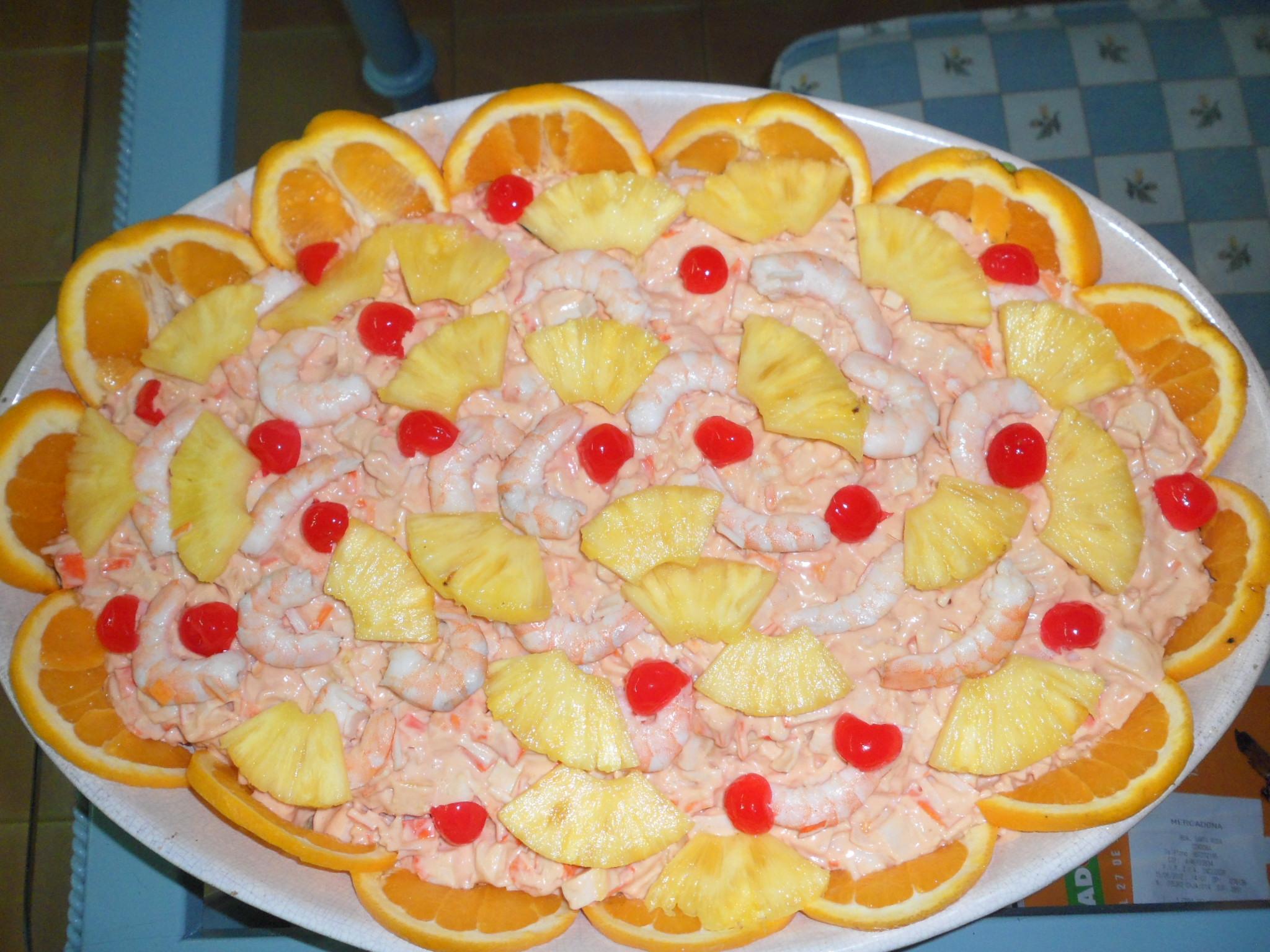 C ctel de mariscos las recetas de lola - Aperitivos de mariscos ...