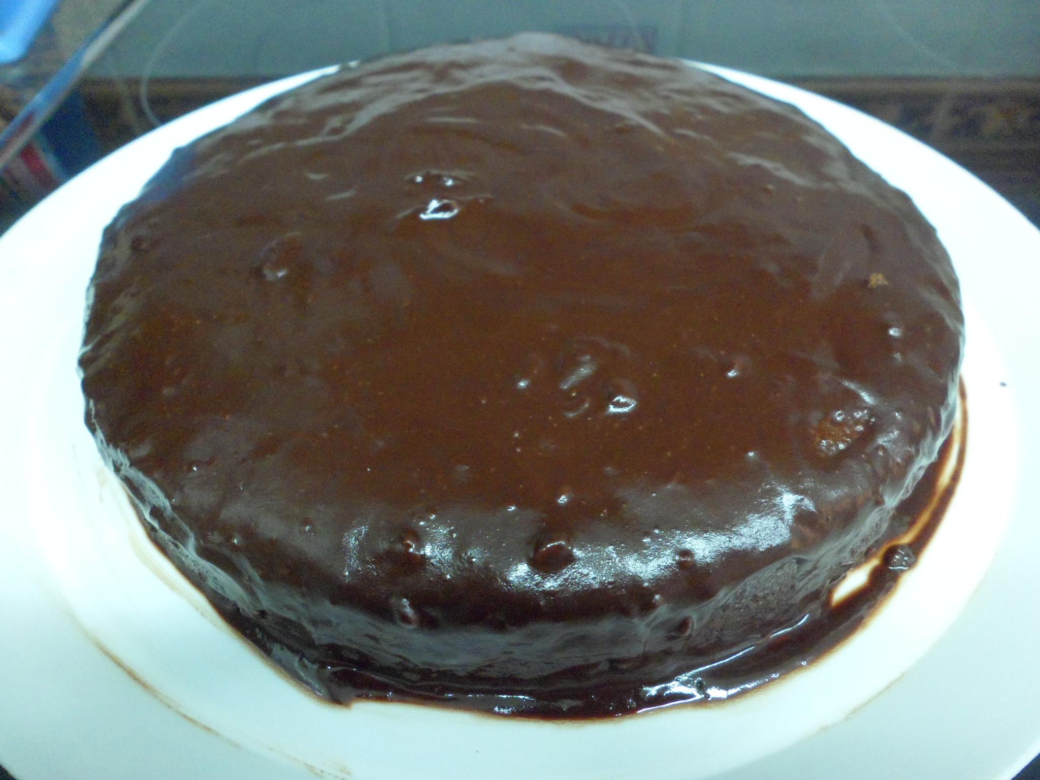 Tarta De Chocolate Con Cobertura Las Recetas De Lola