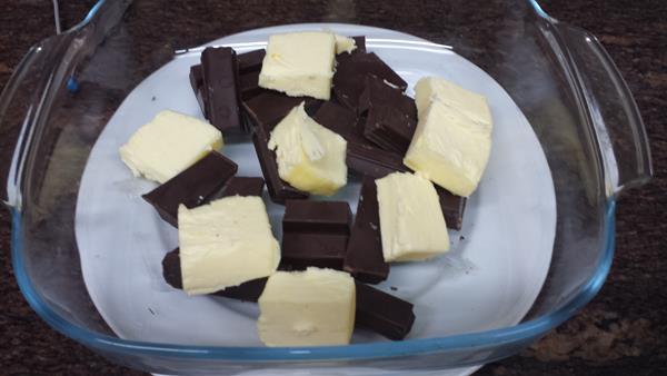 Tarta de galletas y chocolate (Tarta de la Abuela) (3/6)