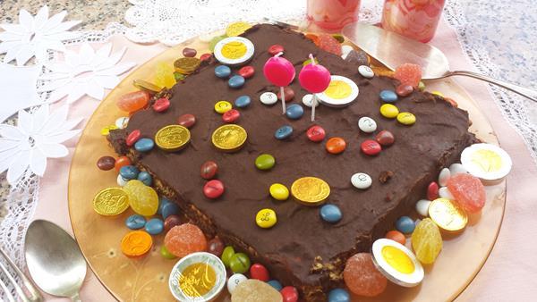 Tarta de galletas y chocolate (Tarta de la Abuela) (1/6)